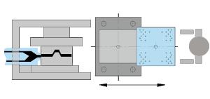 Icon SC single sliding table