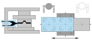 icon double sliding table