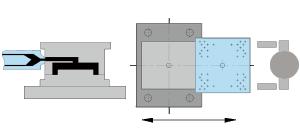 Icon SK single sliding table