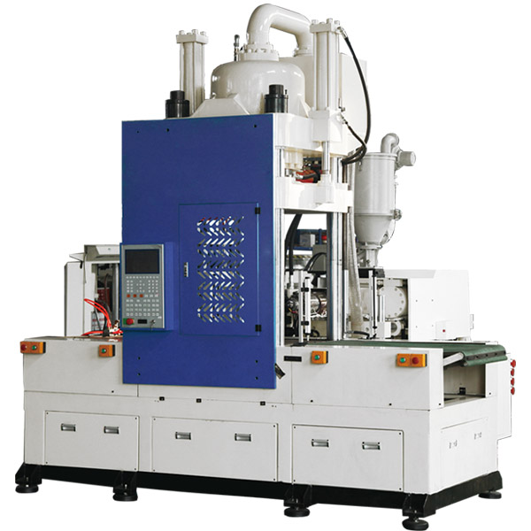 K type horizontal injection vertical clamping, double sliding table injection molding machine