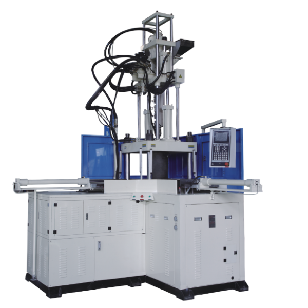 Right Angle Sliding table vertical injection molding machine